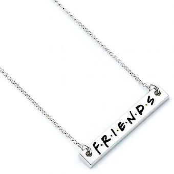 Friends Silver Plated Necklace Logo