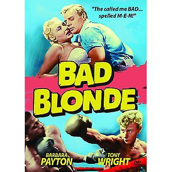 Bad Blonde [DVD] USA import