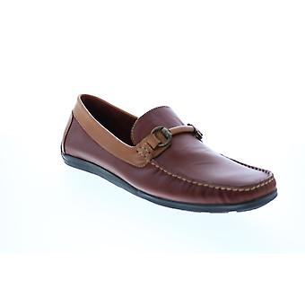 Giorgio Brutini Torino  Mens Brown Loafers & Slip Ons Moccasin Shoes