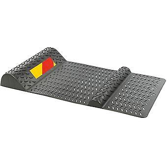 Parkmatte 52 x 25 cm Kunststoffgrau