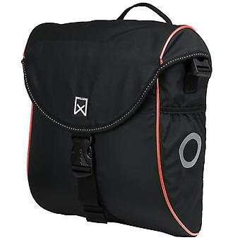 Willex Bicycle Bag 300 S 12 L Black and Red