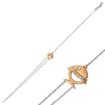 Vis Diamond Armband