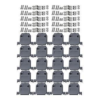 10 pcs BXY15H DB15 D-Sub συνδετήρας αρσενικό & θηλυκό ς τύπος συγκόλλησης καλύπτει