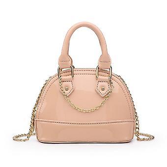 Classic Green Crocodile Leather Shell Bags, Mini Shoulder Handbag Fashion Lady