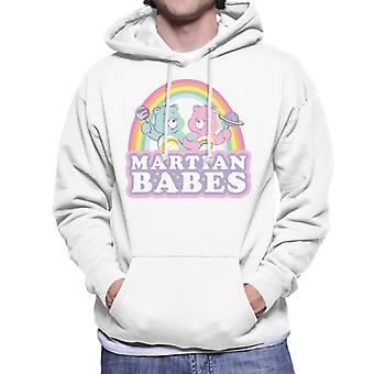 Care Bears Cheer Bear og ønsker Bear Martian Babes Mænd's Hooded Sweatshirt