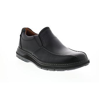 Clarks Un Ramble Step Herren schwarz Loafers & Slip Ons Casual Schuhe