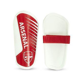 Arsenal FC Jalkapallo Jalkapallo Nuorten Lipsahdus Shinguard Shin Protection Punainen/Valkoinen
