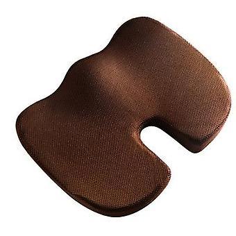 Comfortable Gel Sponge Cushion Memory Foam Seat - Anti Haemorrhoids, U Shaped