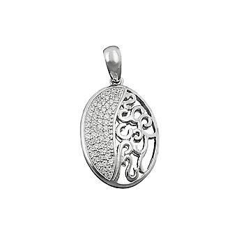Anhänger mit Zirconias Silber 925