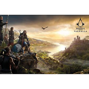 Assassins Creed Valhalla Vista Poster