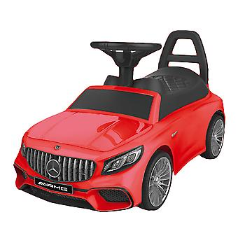 Mercedes ride-on LED-geluiden - rood