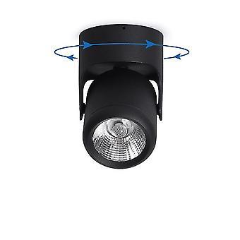 Iluminación de proyector montada en superficie ajustable para sala de estar