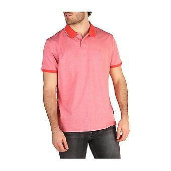 Calvin Klein -BRANDS - Vaatteet - Polo - K10K100670_660 - Miehet - Punainen - XL