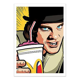 Art-Poster - Ultra Shaky Gewalt - Butcher Billy