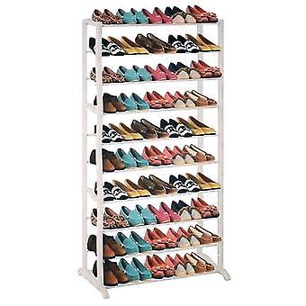 Pantofi rack 50 perechi de pantofi de metal