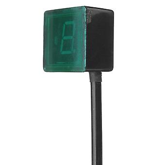 Motorfiets / fiets digitale versnelling indicator, led display + shift hendel magneet