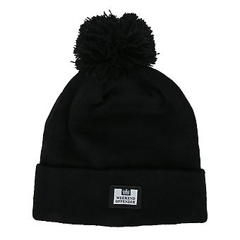Accessories Weekend Offender Joni Bobble Hat in Black