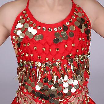 Flamenco Skirt Striped Performance Dress