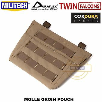 Tw 500d Delustered Cordura Molle Groin Pouch