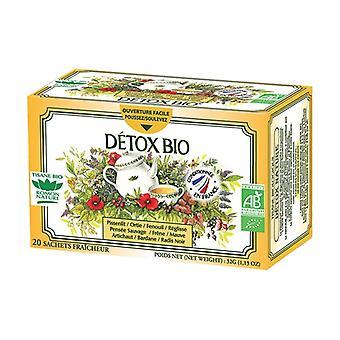 Organic Detox Nature Herbal Tea 20 infusion bags