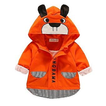 Baby kläder Totoro Cartoon Newborn Jacket Hooded Outerwear Toddler's Kläder
