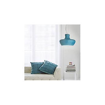 Aladino Azul, Lámpara De Suspensión 1 Bombilla