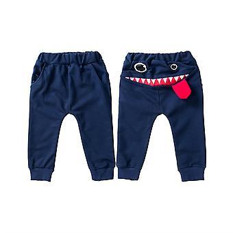 Baby Big Mouth Monster Print Long Pants Bottom Jogging Leggings Trousers