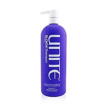 Unite BLONDA Toning Shampoo (Violet Toning Shampoo) 1000ml/33.8oz