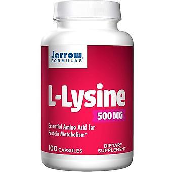 Jarrow Formulas L-Lysine 500mg Caps 100