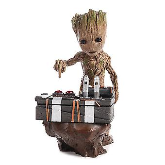 18cm Guardians Of The Galaxy 2 Dj Groot Tree Figure Model Toy