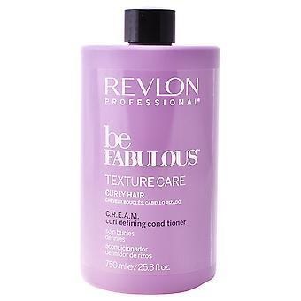 Revlon Be Fabulous Acondicionador para Cabellos Rizados 750 ml