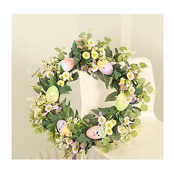 Easter Wreath Decorations For The Home Spring Eucalyptus Grapevine Wreath Decor