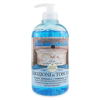 Emozioni in toscana hand & face soap with hamamelis virginiana thermal water 251448 500ml/16.9oz