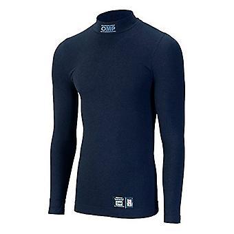 Men's Thermal T-shirt OMP Long sleeve Black (Size XS)