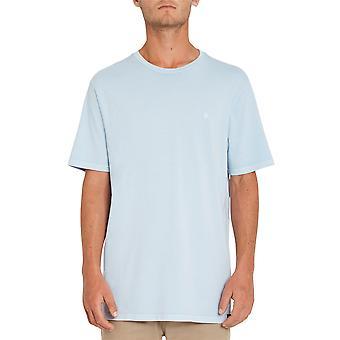 Volcom Hombres's Camiseta ~ Piedra Sólida Emblema azul