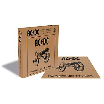 Ac/dc - for those about to rock 500pc puzzle