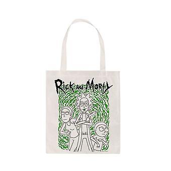 Rick ja Morty Portal Canvas Tote Laukku