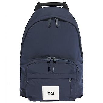 Y-3 sininen back pack