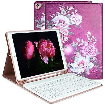 FengChun iPad 2020 8. Gen Tastatur Hlle, ABS Harter Rcken Exquisites Muster Gehuse Schutzhlle,