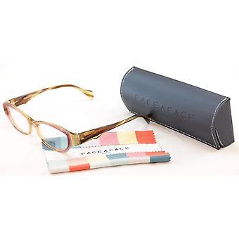 Gezicht een gezicht brillen Epoca 1 3015 elektrische violet jungle plastic met de hand gemaakt