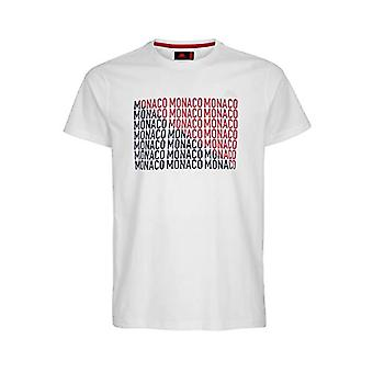 Kappa ALAIN T-shirt Men's White/Red/Blue