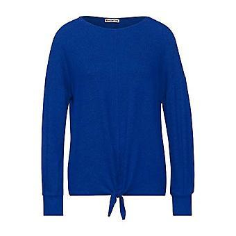 Street One 315621 Camiseta, Cobalt Blue Melange, 48 Mujer