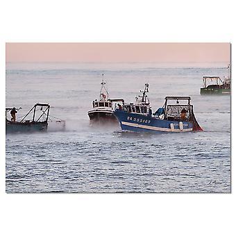 Łodzie stołowe rybaków lafitenia