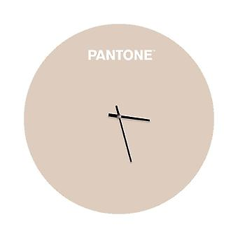 PANTONE Montre Sunrise Couleur Sable, Blanc, en Métal L40xP0,15xA40 cm