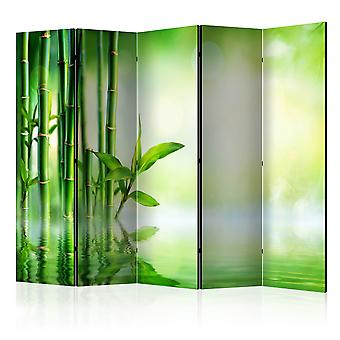 5-teiliges Paravent - Bamboo Grove II [Room Dividers]