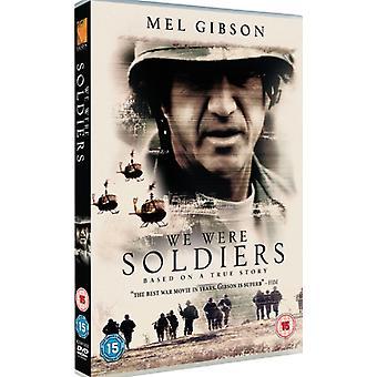 Byliśmy żołnierzami DVD