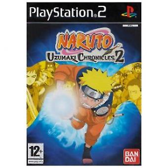 Naruto Uzumaki Chronicles 2 Game PS2
