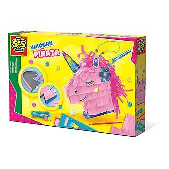 SES Creative - Kinder eenhoorn Pinata (meerkleurig)