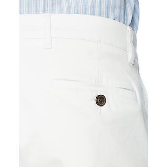 Goodthreads Miesten suoraan pesty stretch chino pant, valkoinen, 34W x 29L