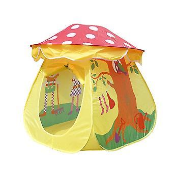 Kids Play Tent Teepee Toddler Indoor Garden Girls Pop-up Mushroom Playhouse